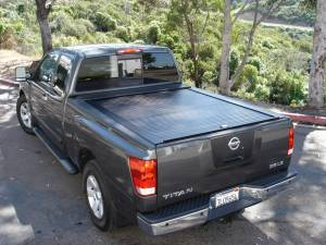 Truck Covers USA - Truck Covers USA Retractable Tonneau Cover #CR140step - Ford F-250/F-350/F-450 Super Duty With Step - Image 1