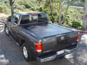 Truck Covers USA - Retractable Tonneau Cover - Truck Covers USA - Truck Covers USA Retractable Tonneau Cover #CR140step - Ford F-250/F-350/F-450 Super Duty With Step
